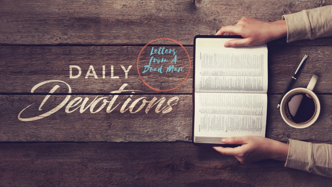 "Daily Devo ""I Need Thee"""